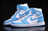 "NIKE AIR JORDAN 1 RETRO HIGH OG ""POWDER BLUE"" 555088-117"