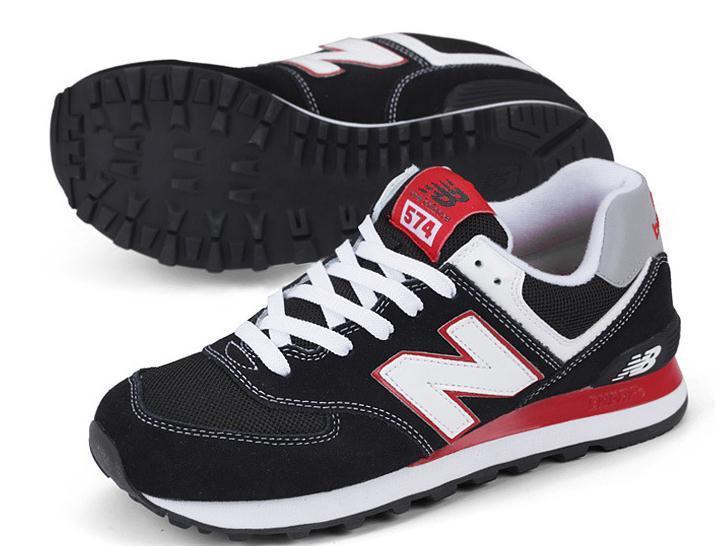 new balance 574 czarne czerwone