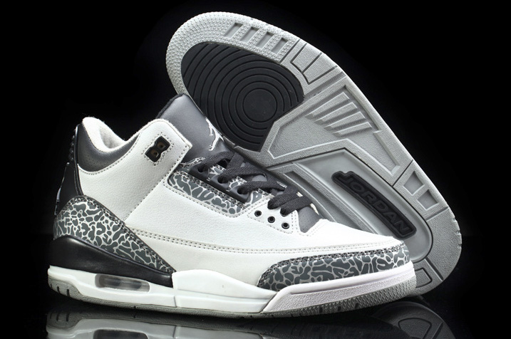 free shipping e6f52 ca3cd ... where to buy nike air jordan 3 retro wolf grey . e5206 cd436