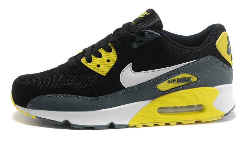 Air Max 90 Yellow Black White
