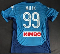 Koszulka piłkarska SSC NAPOLI 17/18 KAPPA #99 MILIK, #20 ZIELINSKI