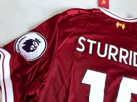 Zestaw piłkarski FC LIVERPOOL home 17/18 NEW BALANCE #15 STURRIDGE