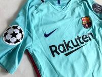 Zestaw piłkarski FC BARCELONA NIKE 17/18 Vapor Match Away, #10 MESSI
