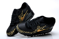 Buty damskie Nike Air Max 90 BLACK and GOLD
