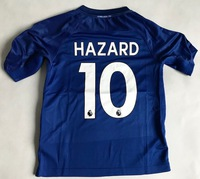Dziecięcy zestaw piłkarski CHELSEA LONDYN home 17/18 NIKE (koszulka+spodenki) #10 HAZARD