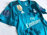 Dziecięcy zestaw piłkarski REAL MADRYT 17/18 ADIDAS (koszulka+spodenki+getry) #7 RONALDO