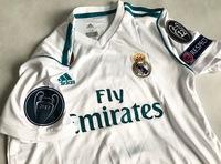 Dziecięcy zestaw piłkarski REAL MADRYT 17/18 ADIDAS (koszulka+spodenki) #7 RONALDO