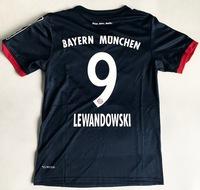 Dziecięcy zestaw piłkarski BAYERN MONACHIUM away 17/18 ADIDAS (koszulka+spodenki) #9 LEWANDOWSKI