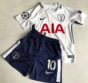 Dziecięcy zestaw piłkarski TOTTENHAM HOTSPUR home 17/18 NIKE (koszulka+spodenki) #10 KANE