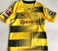 Dziecięcy zestaw piłkarski BORUSSIA DORTMUND home 17/18 PUMA (koszulka+spodenki) #26 PISZCZEK