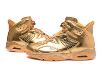 Buty damskie NIKE AIR JORDAN RETRO 6 Gold (złote)