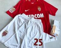 Zestaw piłkarski AS MONACO NIKE 17/18 Vapor Match Home