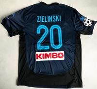 Koszulka piłkarska SSC NAPOLI 3rd 17/18 KAPPA #20 ZIELINSKI, Liga Mistrzów