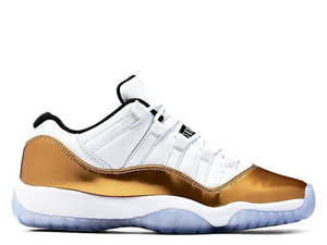 Buty męskie NIKE AIR JORDAN 11 Low Metallic Gold 528895-103