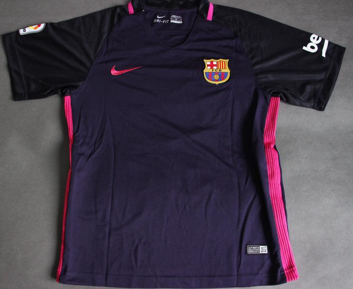 1e43ab987 ... Dziecięcy zestaw piłkarski FC BARCELONA NIKE Away 16/17  (koszulka+spodenki) #