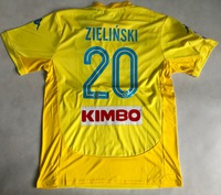 Koszulka piłkarska SSC NAPOLI away 17/18 KAPPA #20 ZIELIŃSKI