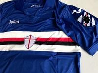 Koszulka piłkarska SAMPDORIA GENUA home 17/18 JOMA #16 Linetty