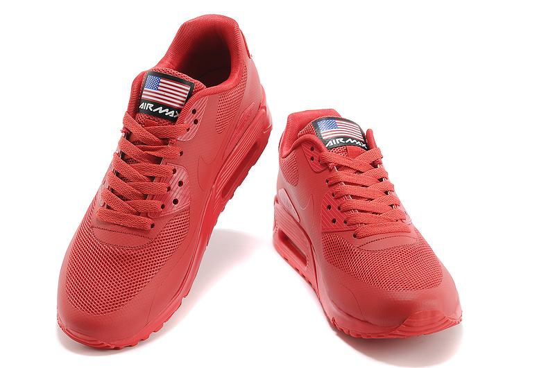 air max 90 hyperfuse red