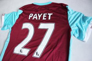Koszulka piłkarska WEST HAM UNITED home 16/17 UMBRO #27 Payet