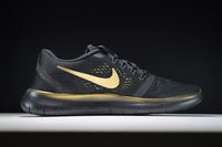 Buty męskie NIKE Free Run 5.0 850493-007 BLACK and GOLD