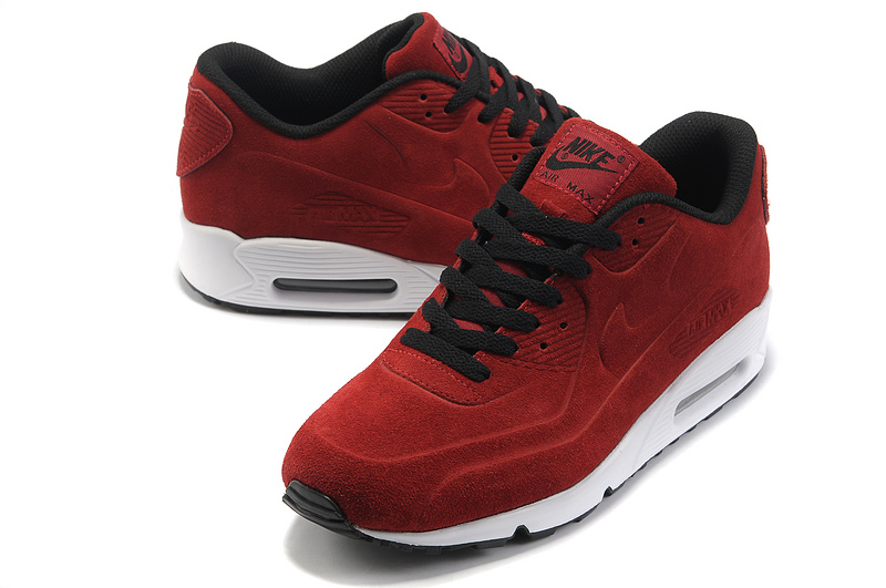 bordowe nike air max