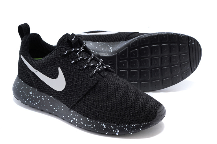Nike Shoes Black And White Dots