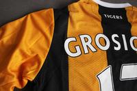 Koszulka piłkarska HULL CITY home 16/17 UMBRO #17 Grosicki