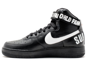 BUTY męskie NIKE AIR FORCE 1 HIGH SUPREME 698696-010