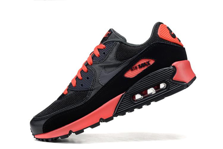 air max czarno czerwone męskie