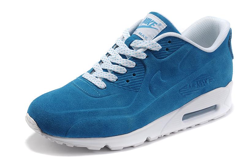 competitive price 94d76 dd842 Damskie buty NIKE AIR MAX 90 VT PRM 472489-401 niebieskie