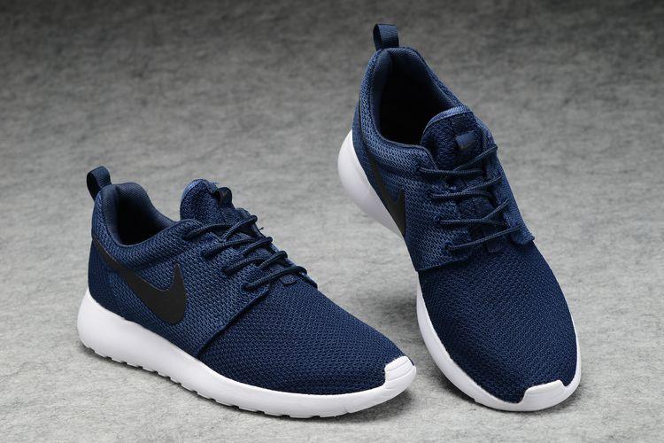 sports shoes 4d172 d2aa8 Buty męskie NIKE Roshe Run 511881-405 GRANATOWE ...