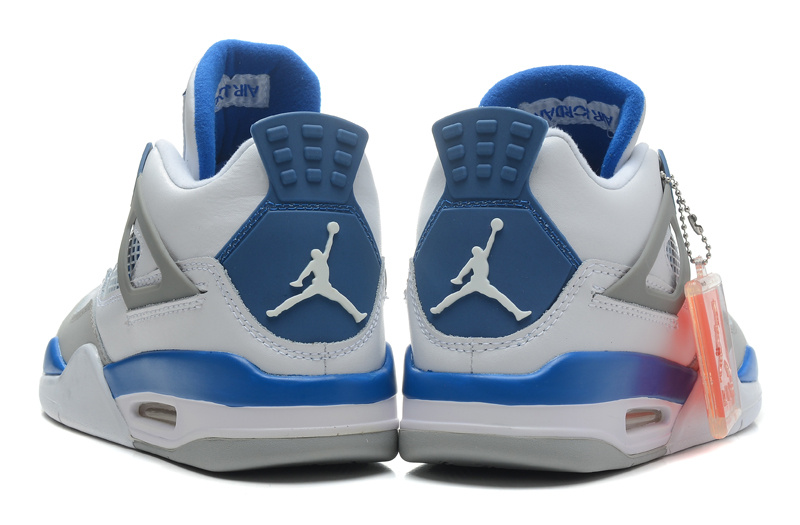 buy online 7239e d3f5a BUTY męskie NIKE AIR JORDAN 4 308497-105 Military Blue .