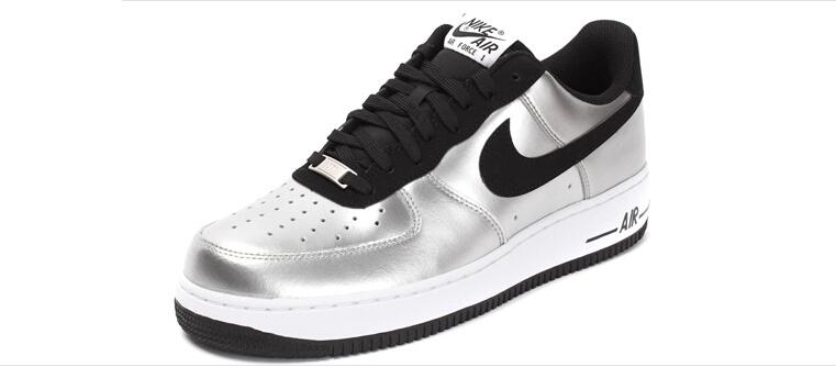 info for 5a11c b00ee BUTY męskie NIKE AIR FORCE 1 Low 488298-054 Silver Black