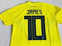 Koszulka piłkarska KOLUMBIA 2018 Authentic ADIDAS #10 James