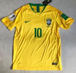 Koszulka piłkarska BRAZYLIA NIKE Vapor Match Home 2018, #10 Neymar Jr.