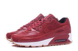 Buty damskie Nike Air Max 90 PRM Burgundy 700155-403