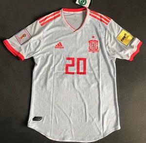 Koszulka piłkarska HISZPANIA 2018 Authentic ADIDAS Away #20 Asensio