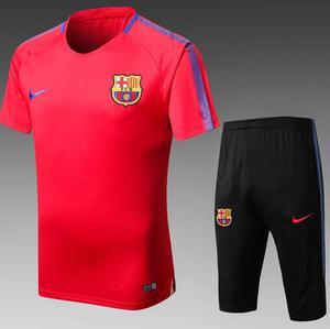 Zestaw treningowy FC BARCELONA 17/18 (koszulka i spodenki 3/4)