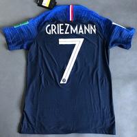 Zestaw piłkarski FRANCJA NIKE Vapor Match Home 2018, #7 Griezmann