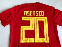 Zestaw piłkarski HISZPANIA 2018 Authentic ADIDAS #20 Asensio