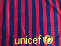 Koszulka piłkarska FC BARCELONA NIKE 18/19 Vapor Match Home, #10 MESSI