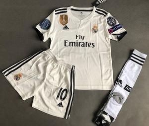 Dziecięcy zestaw piłkarski REAL MADRYT ADIDAS Home 18/19 (koszulka+spodenki+getry) #10 Modrić