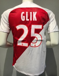 Koszulka piłkarska AS MONACO Breathe Stadium Home Kit 18/19, #25 Glik