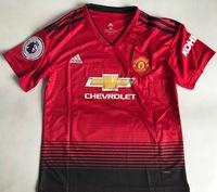 Dziecięcy zestaw piłkarski MANCHESTER UNITED Home 18/19 ADIDAS (koszulka+spodenki+getry) #7 ALEXIS