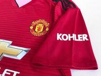 Zestaw piłkarski MANCHESTER United home 18/19 Authentic ADIDAS, #9 Lukaku