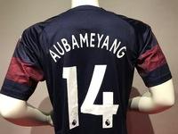 Zestaw piłkarski ARSENAL LONDYN away 18/19 PUMA #14 Aubameyang