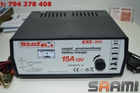 Prostownik EST-305 12V/15A 34-150Ah STEF-POL