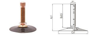 Dętka 3.50-16 V1.09.1 KABAT pogrubiona