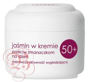 ZIAJA Jaśminowa, Krem przeciw zmarszczkom 50+ na dzień,  50 ml