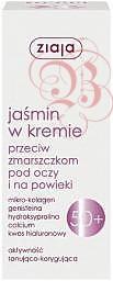 ZIAJA Jaśminowa, Krem pod oczy i na powieki 50+, 15 ml